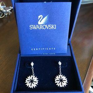 Swarovski earrings, brand new